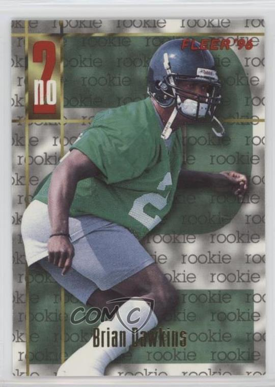 322d77b65ea #150 Brian Dawkins. Representative Image - Select Specific Item above to  see image of actual item