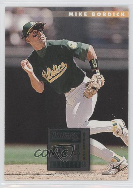Details About 1996 Donruss 130 Mike Bordick Oakland Athletics Baseball Card