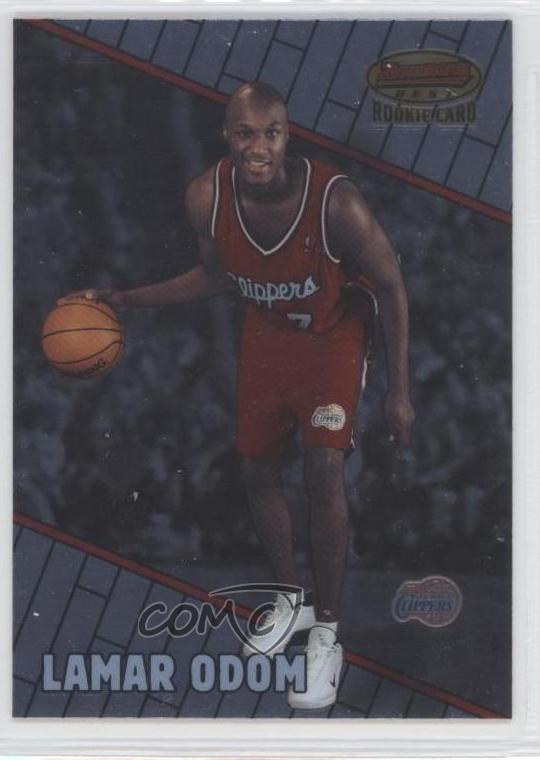 70abcbabb6e4  104 Lamar Odom. Representative Image - Select Specific Item above to see  image of actual item