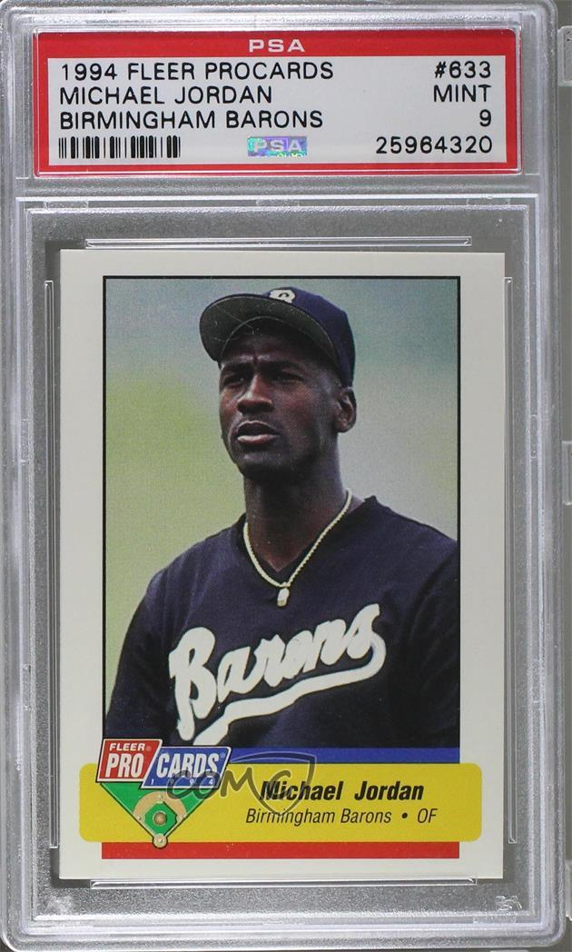 57b70737a292fb 1994 Fleer ProCards Minor League -  Base   633 Michael Jordan.  Representative Image - Select Specific Item above to see image of actual  item