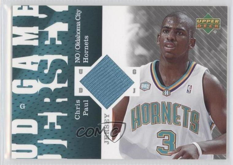 62b7f206c21d 2006-07 Upper Deck - UD Game Jersey  GJ-CP Chris Paul. Representative Image  - Select Specific Item above to see image of actual item