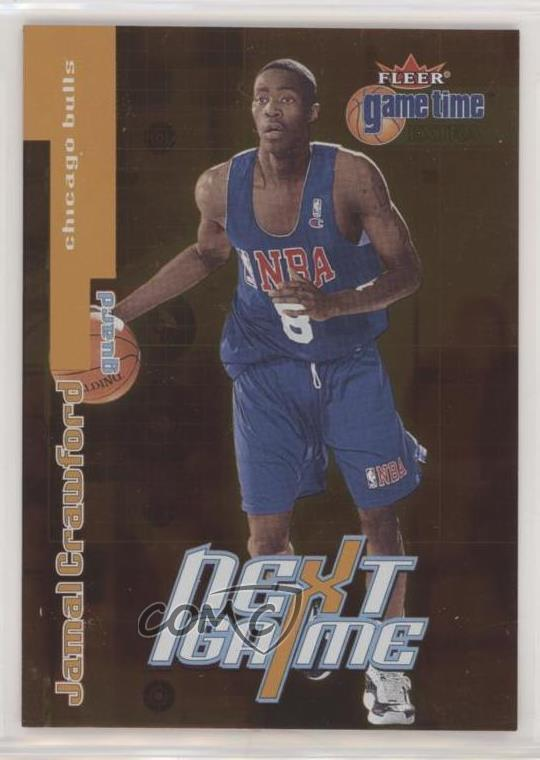 ea73b6db #95 Jamal Crawford. Representative Image - Select Specific Item above to  see image of actual item