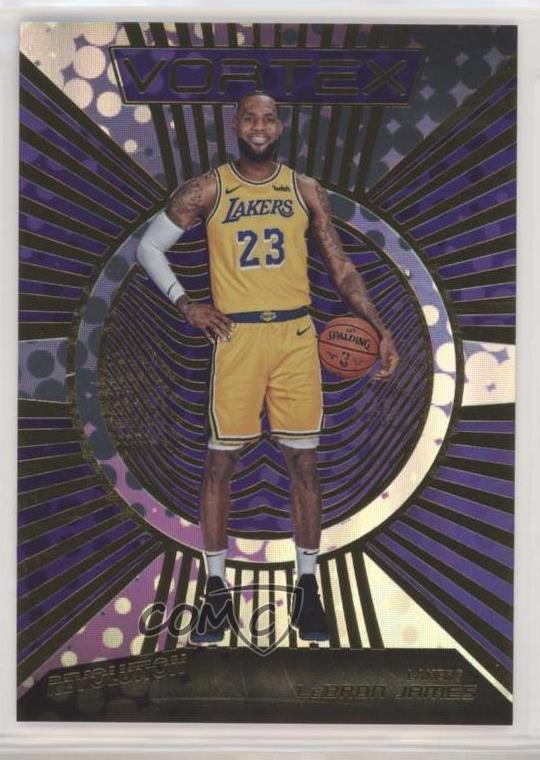 Verzamelingen 2018-19 Panini Revolution LeBron James Vortex Insert Card #1 Lakers