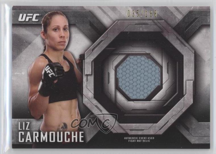Mixed Martial Arts 2014 Topps UFC Knockout Fight Mat Relic #FM-JEY Jessica Eye Rookie MMA Card