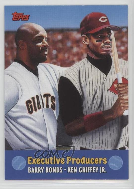 f08328ea97 #TC8 Barry Bonds, Ken Griffey Jr. Representative Image - Select Specific  Item above to see image of actual item