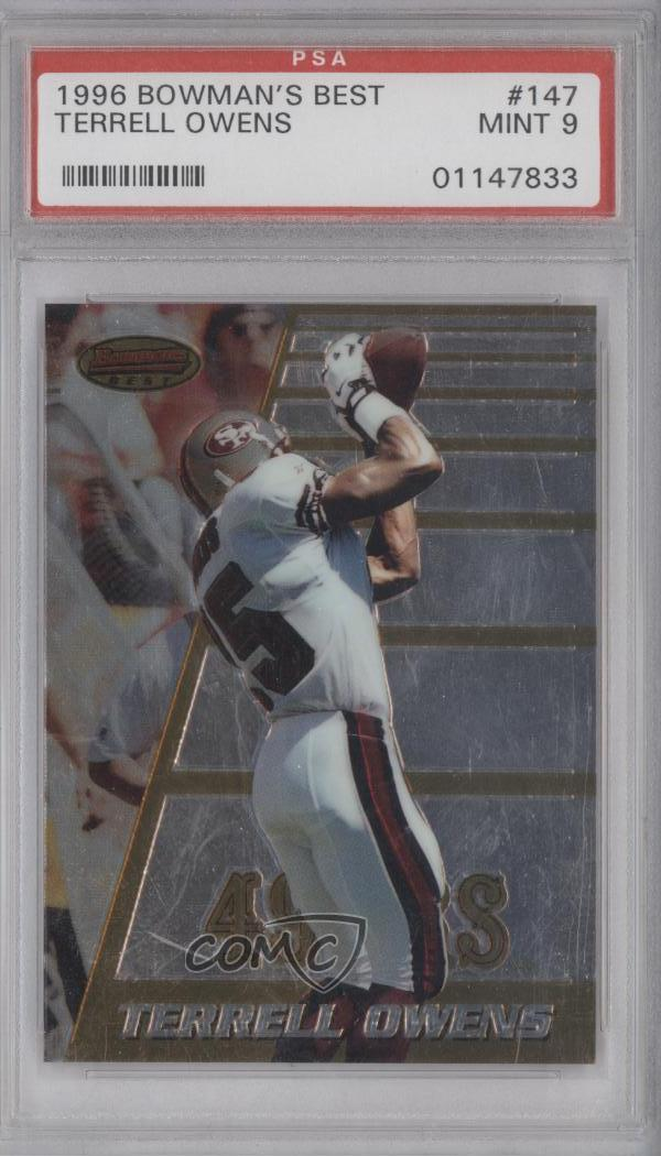 9e8a972876c  147 Terrell Owens. Representative Image - Select Specific Item above to  see image of actual item