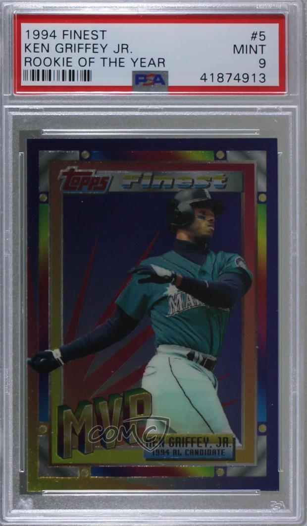 ad90b64e6d ... Set Finest #5 Ken Griffey Jr. Representative Image - Select Specific  Item above to see image of actual item