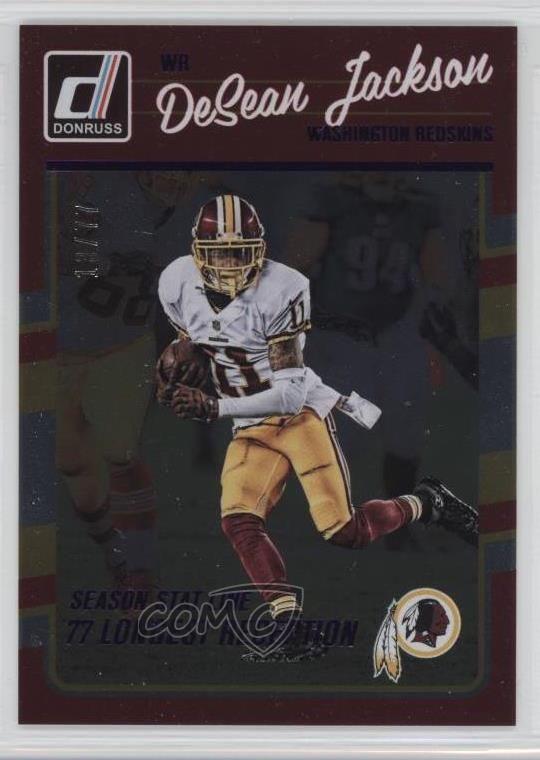 295 DeSean Jackson. Representative Image - Select Specific Item above to  see image of actual item 44a507653