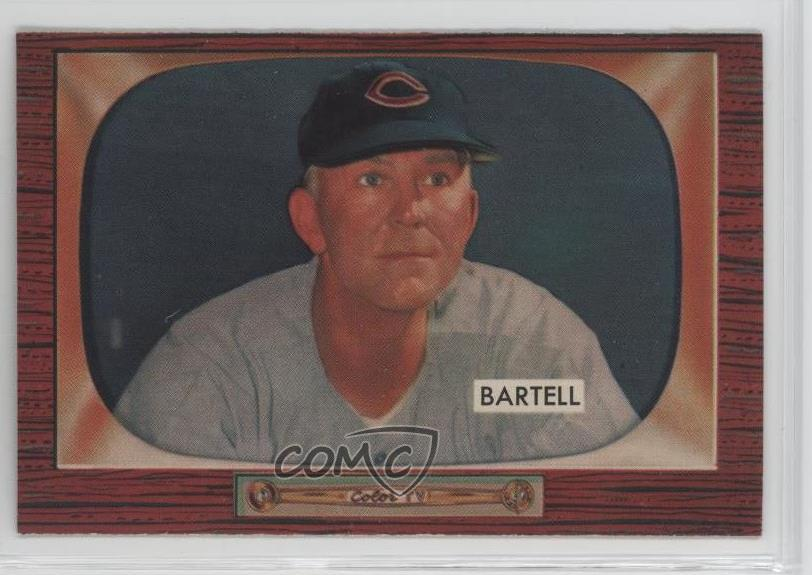 Verzamelkaarten, ruilkaarten 1955 Bowman #50 Hobie Landrith Cincinnati Reds Baseball Card Verzamelingen