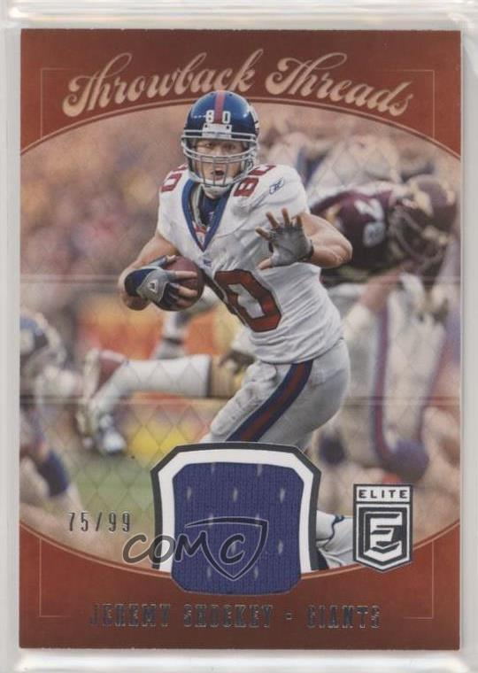 eb475efad 2018 Donruss Elite - Throwback Threads Singles #TTS-6 Jeremy Shockey.  Representative Image - Select Specific Item above to see image of actual  item