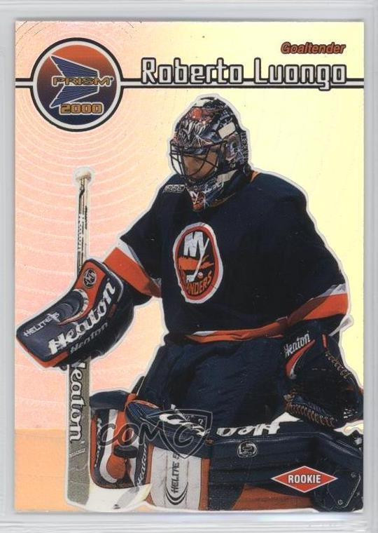 1999 00 Pacific Prism 88 Roberto Luongo New York Islanders Hockey