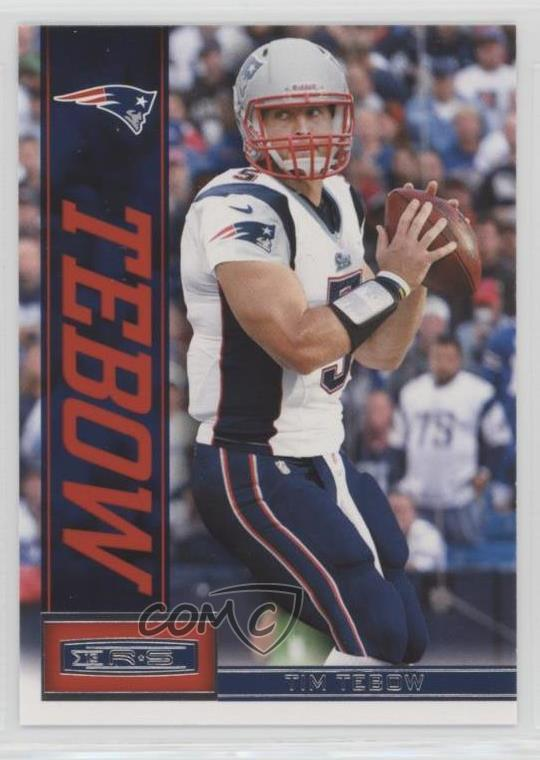 Details About 2013 Panini Rookies Stars 61 Tim Tebow New England Patriots Football Card