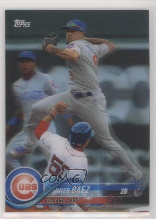 Details About 2018 Topps On Demand 3d 15 Javier Baez Chicago Cubs Baseball Card