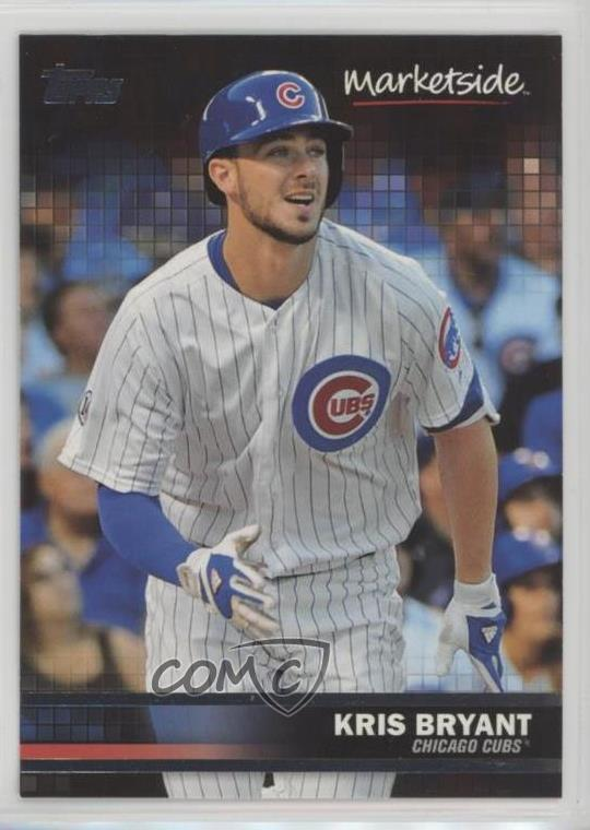 Details About 2016 Topps Wal Mart Marketside Pizza 41 Kris Bryant Chicago Cubs Baseball Card