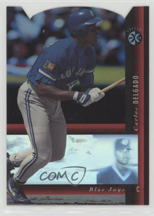 Details About 1994 Upper Deck Sp Holoview Special Fx Die Cut 6 Carlos Delgado Baseball Card