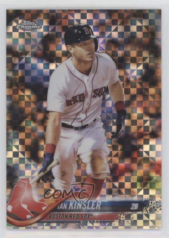 Details About 2018 Topps Chrome Update Target Exclusive X Fractor99 Hmt44 Ian Kinsler Card