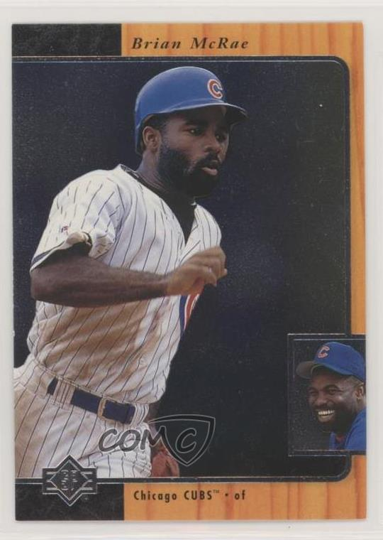 Details About 1996 Sp 52 Brian Mcrae Chicago Cubs Baseball Card