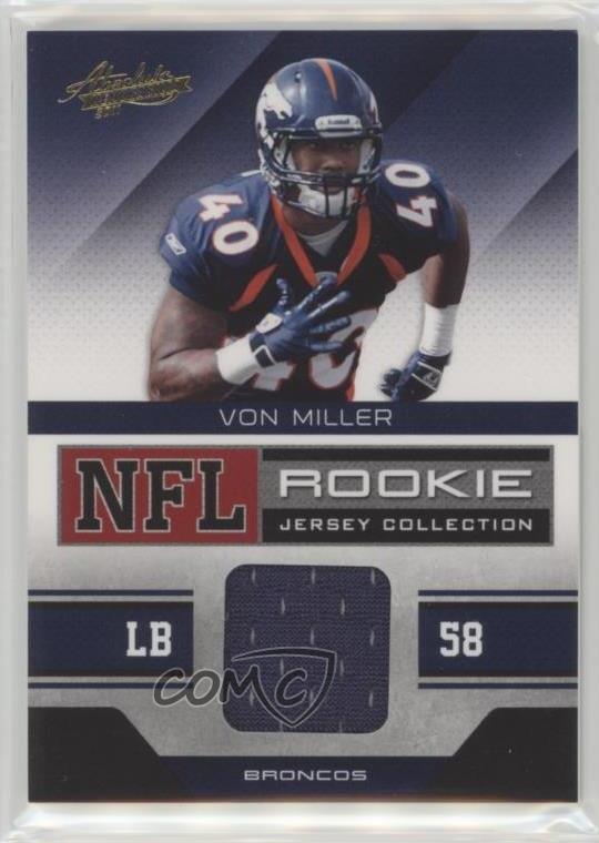 low priced 96275 40394 von miller jersey card
