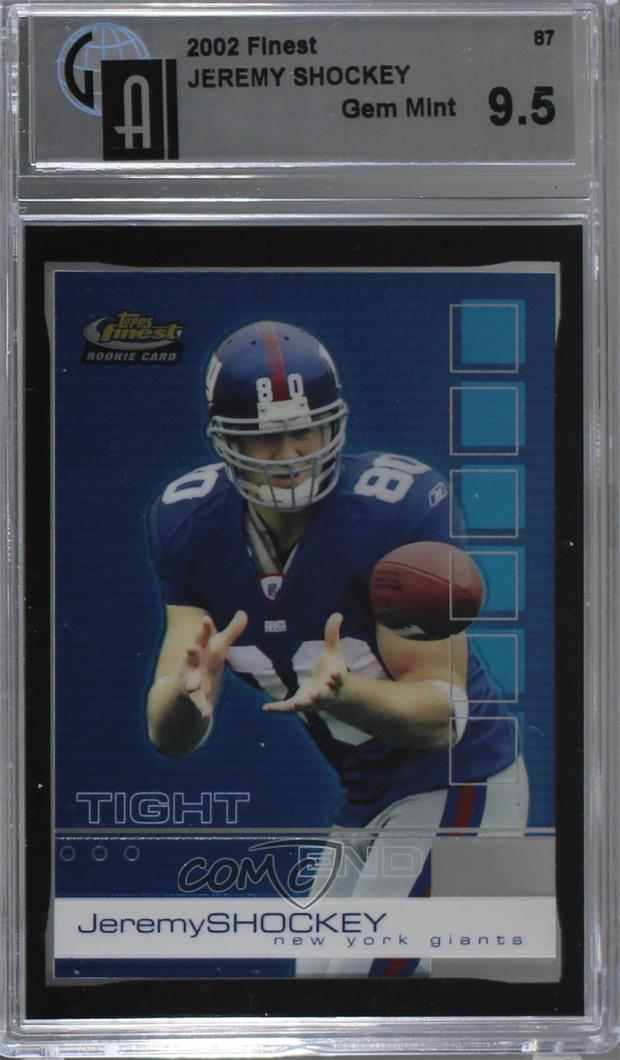 28b866122  87 Jeremy Shockey. Representative Image - Select Specific Item above to  see image of actual item