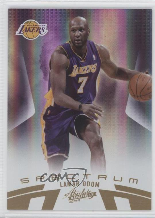 db348643489e  57 Lamar Odom. Representative Image - Select Specific Item above to see  image of actual item
