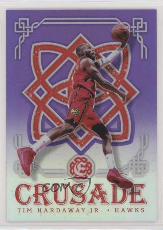 2016-17 Panini Excalibur Crusade Blue #74 Tim Hardaway Jr Atlanta Hawks Jr Card Verzamelkaarten: sport Verzamelingen