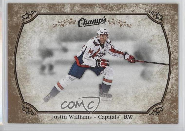 2015-16 Upper Deck Champs -  Base  - Gold Backs  43 Justin Williams.  Representative Image - Select Specific Item above to see image of actual  item 76e89e911172