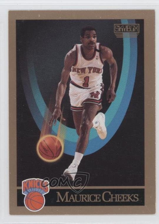 ac7281c0012e  186 Maurice Cheeks. Representative Image - Select Specific Item above to  see image of actual item