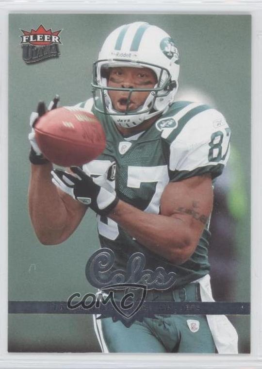 Details about 2006 Fleer Ultra #135 Laveranues Coles New York Jets Football  Card