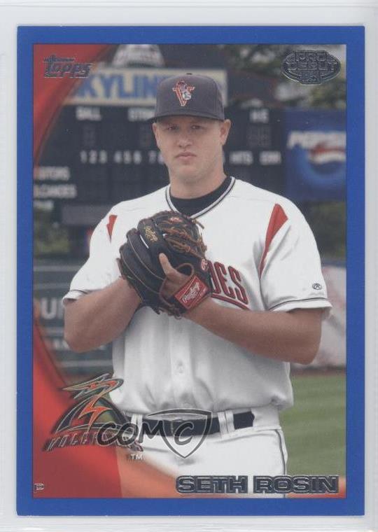 Details about 2010 Topps Pro Debut Blue/369 #402 Seth Rosin Salem-Keizer  Volcanoes Rookie Card