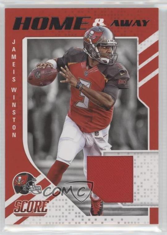 online store 7bc3b 1fc72 Details about 2018 Score Home and Away #7 Jameis Winston Tampa Bay  Buccaneers Football Card
