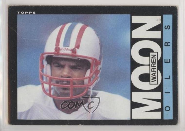 382c7c1d1 #251 Warren Moon. Representative Image - Select Specific Item above to see  image of actual item