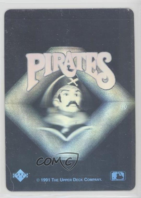 Details About 1991 Upper Deck Logo Hologram Inserts Pittsburgh Pirates Team Baseball Card
