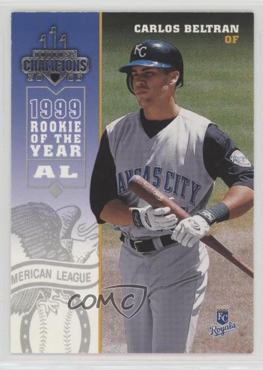 Details About 2003 Donruss Champions 128 Carlos Beltran Kansas City Royals Baseball Card