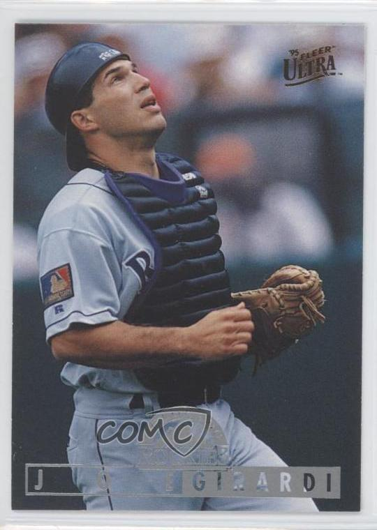Details About 1995 Fleer Ultra 153 Joe Girardi Colorado Rockies Baseball Card