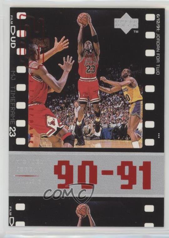 3e24ed70fb0cb2 1998-99 Upper Deck Michael Jordan Living Legend -  Base   47 Michael Jordan.  Representative Image - Select Specific Item above to see image of actual  item