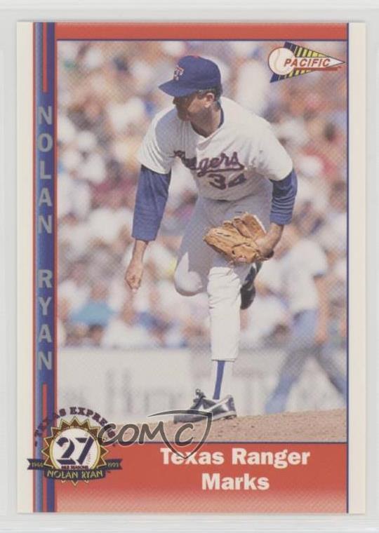Details About 1993 Pacific Texas Express 27 Seasons 236 Nolan Ryan Rangers Baseball Card