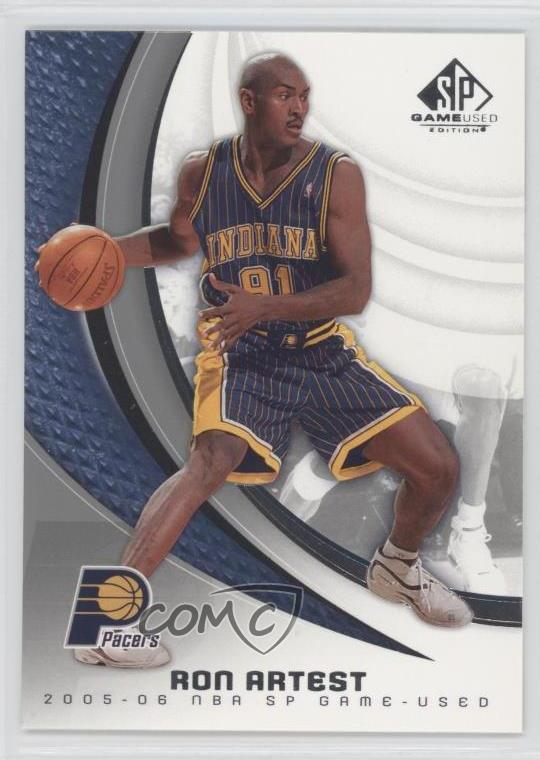 2a087c8f4 2005-06 SP Game Used Edition -  Base   39 Ron Artest. Representative Image  - Select Specific Item above to see image of actual item