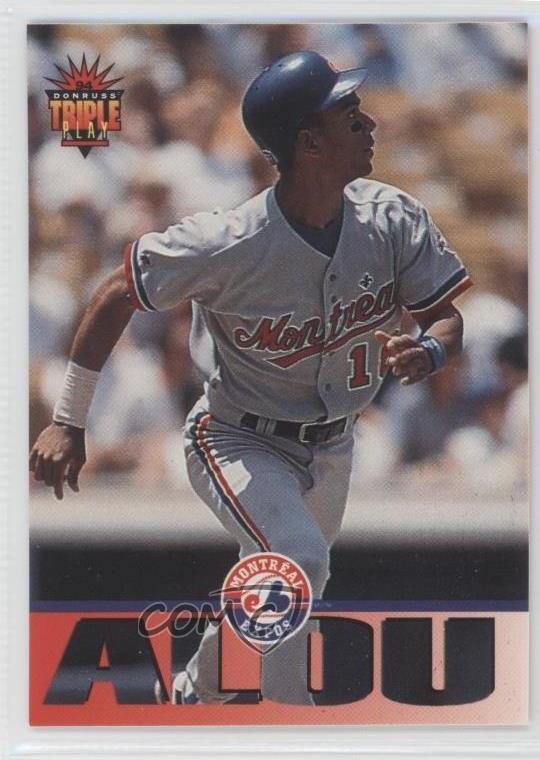Details About 1994 Donruss Triple Play 91 Moises Alou Montreal Expos Baseball Card