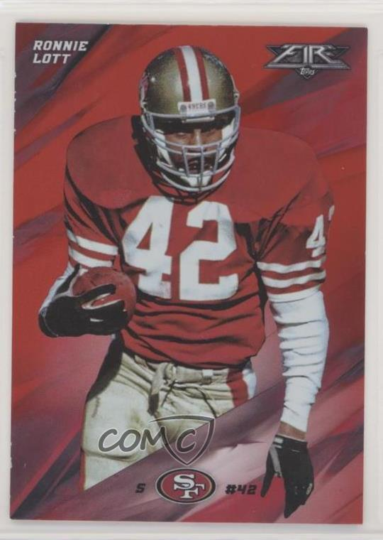 468e4118a  25 Ronnie Lott. Representative Image - Select Specific Item above to see  image of actual item