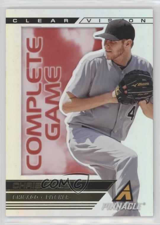 Details About 2013 Panini Pinnacle Clear Vision Complete Game Cv16 Chris Sale Baseball Card