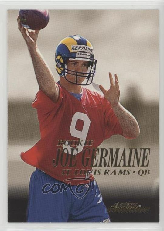 Louis Rams RC Rookie Football Card 1999 Topps Chrome #162 Joe Germaine St Verzamelkaarten, ruilkaarten Verzamelkaarten: sport