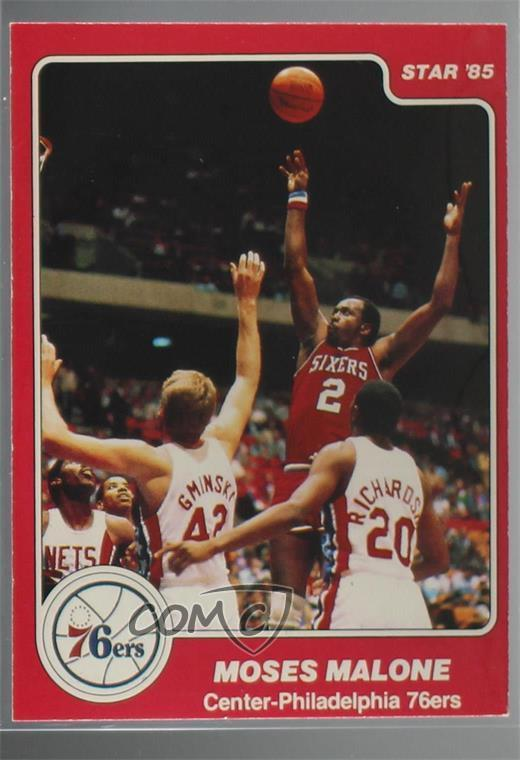 6dea7bce30a  201 Moses Malone. Representative Image - Select Specific Item above to see  image of actual item