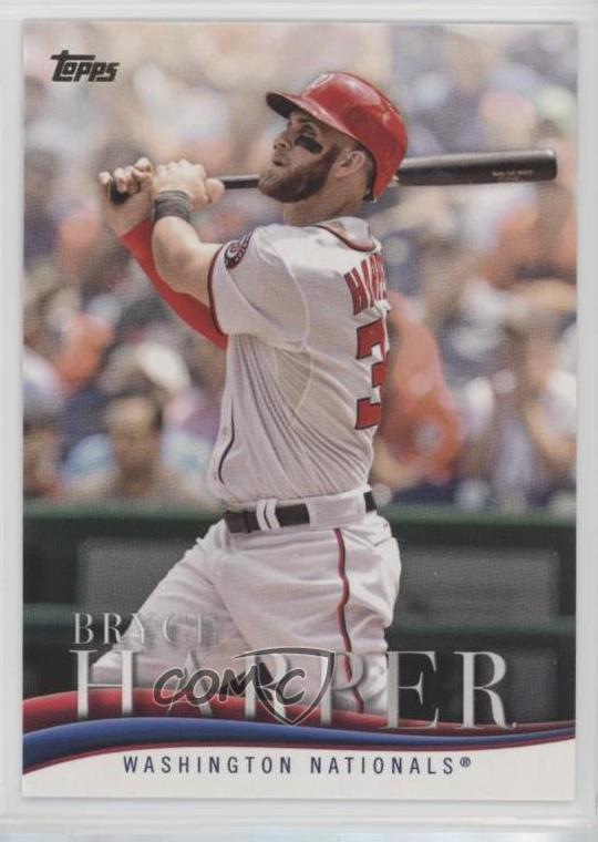 Details About 2018 Topps Update Series Target Highlights Bh 9 Bryce Harper Baseball Card