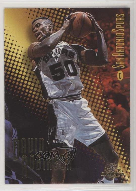 new concept b53e0 f4211 Details about 1996 NBA All-Star Game San Antonio/10500 #4 David Robinson  (Skybox) Spurs Card