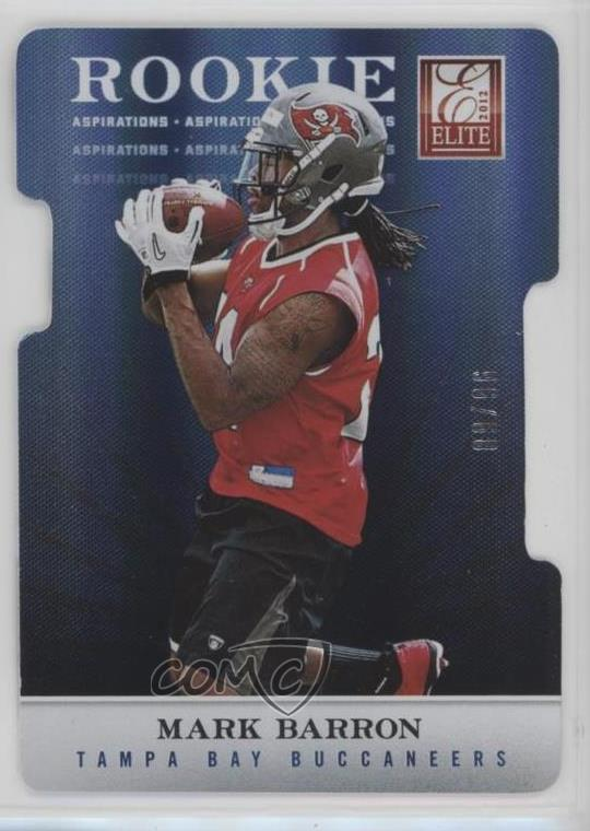 low priced afb3e b25fb Details about 2012 Elite Aspirations Die-Cut/96 #127 Mark Barron Tampa Bay  Buccaneers Rookie