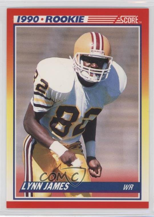 Details About 1990 Score 291 Lynn James Rc Rookie Football Card
