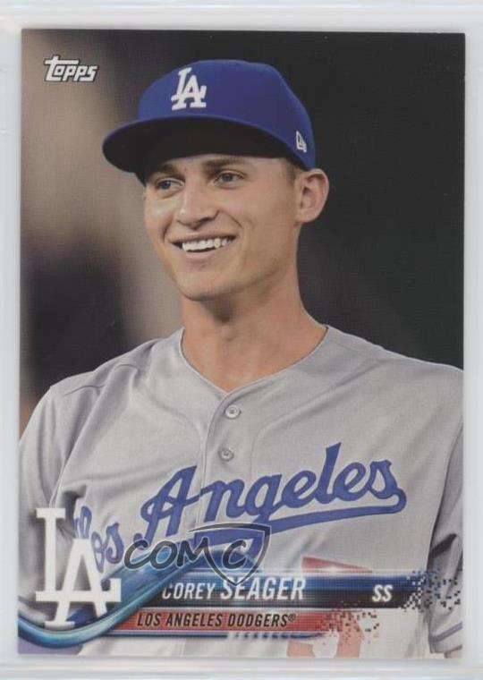 Details About 2018 Topps New Era 6 Corey Seager Los Angeles Dodgers Baseball Card