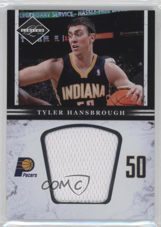 43eeb0034fd2 2011-12 Limited - Jumbo Materials  30 Tyler Hansbrough. Representative  Image - Select Specific Item above to see image of actual item