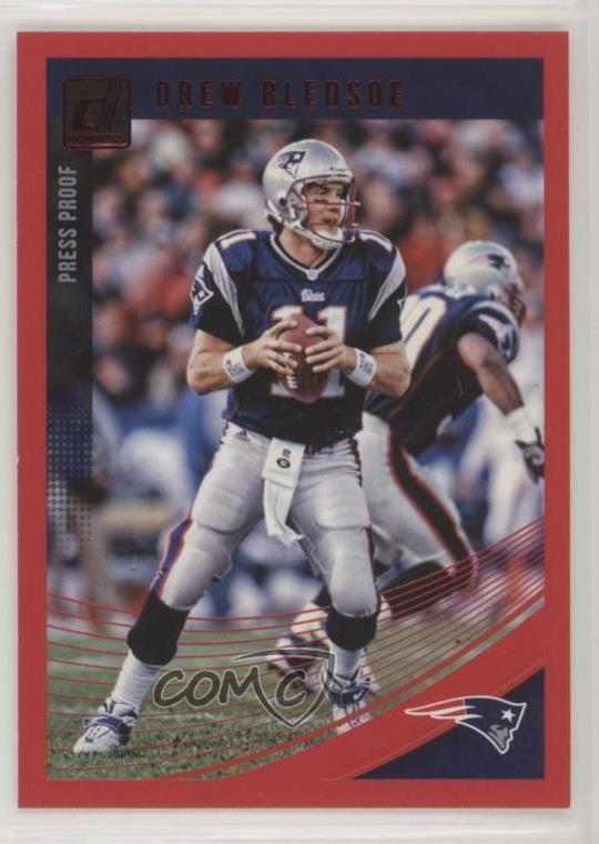 7500cb37975  192 Drew Bledsoe. Representative Image - Select Specific Item above to see  image of actual item