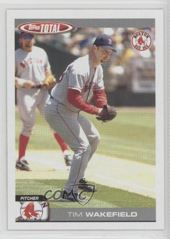Details About 2004 Topps Total 316 Tim Wakefield Boston Red Sox Baseball Card